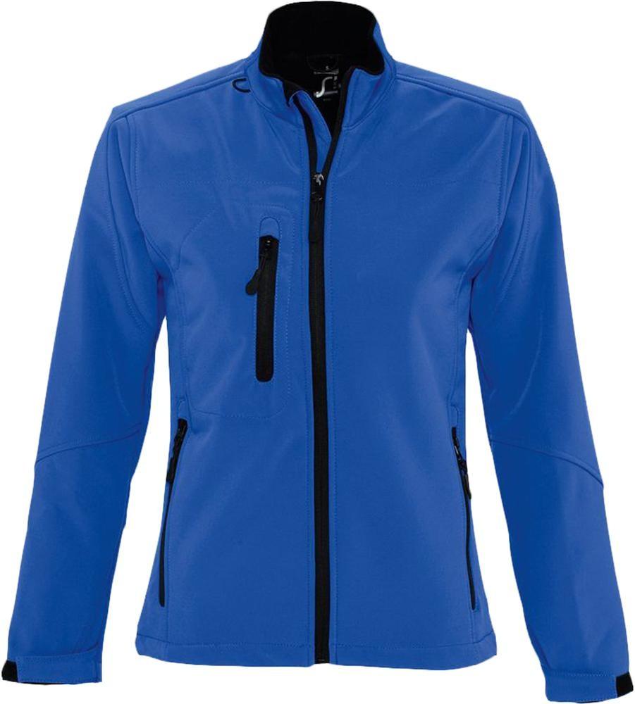 Куртка женская на молнии ROXY 340 ярко-синяя