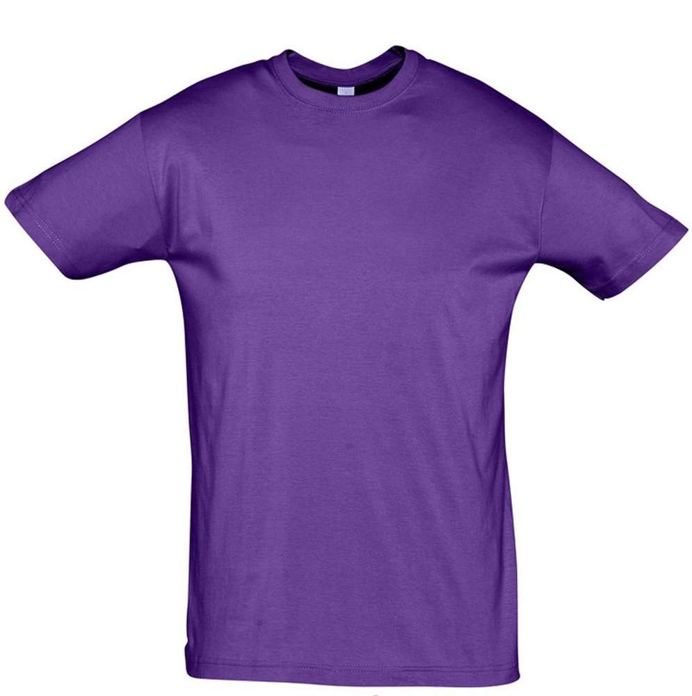 Футболка REGENT 150, фиолетовая