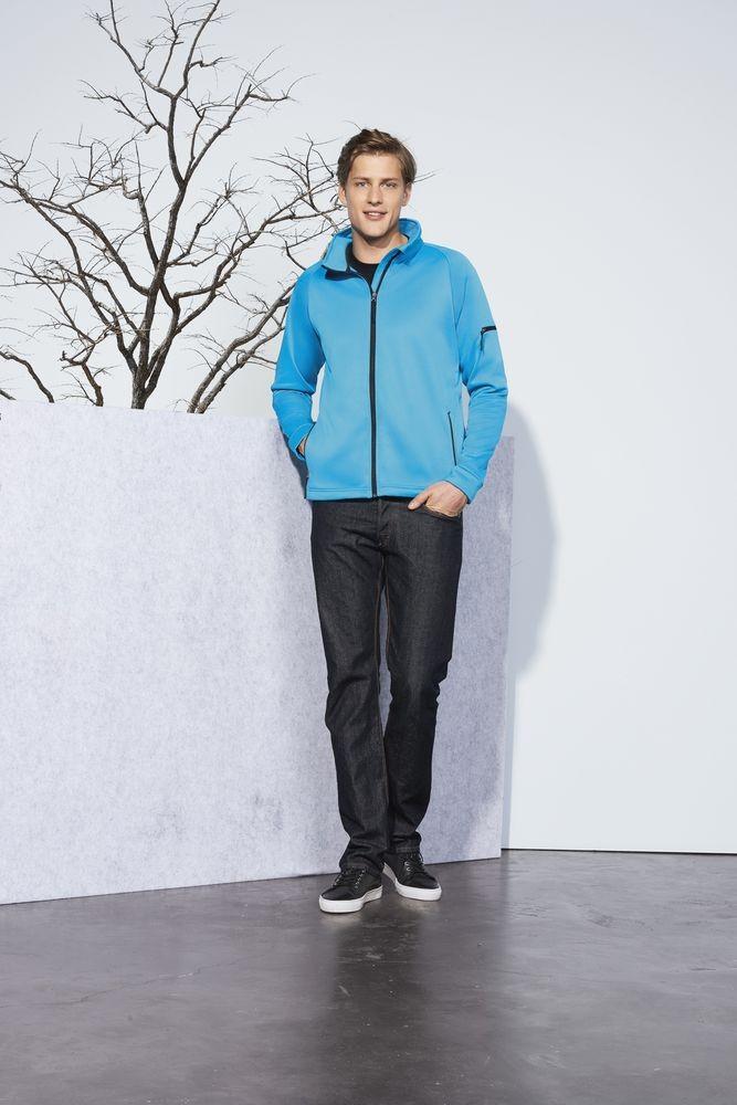 Куртка флисовая мужская New look men 250, черная