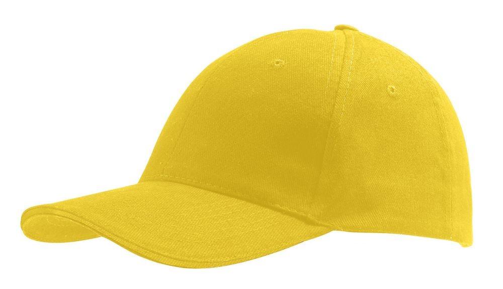 Бейсболка BUFFALO, желтая