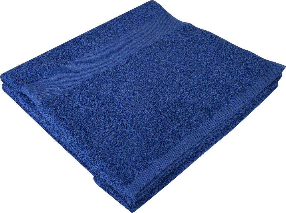 Полотенце махровое Large, синее