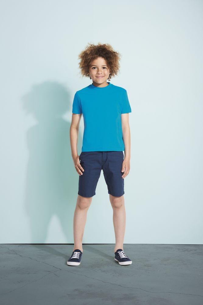 Футболка детская REGENT KIDS 150, ярко-синяя (royal)