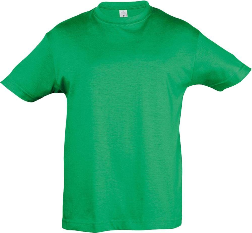 Футболка детская REGENT KIDS 150, ярко-зеленая